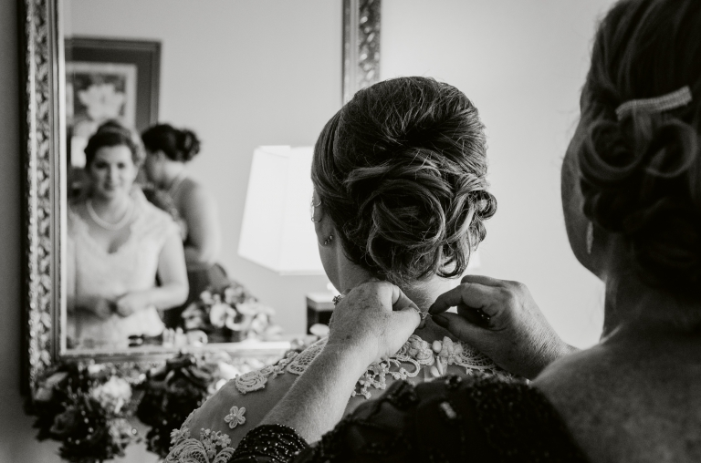Blue Photography | Andover Country Club Early Autumn Wedding Photography