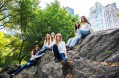 Blue Photography captures six besties from out of town as they gallivant through NYC