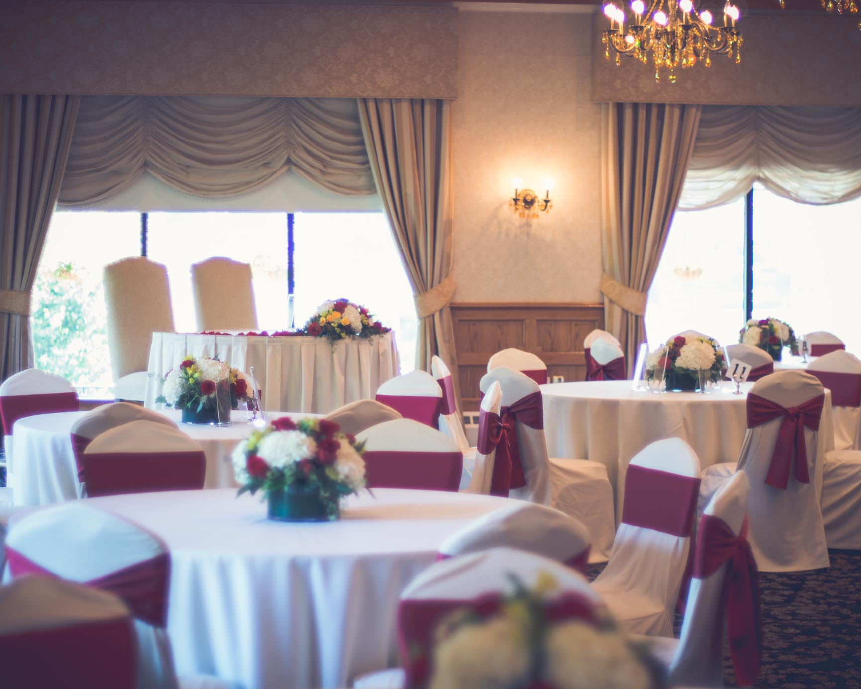 Andover Country Club Early Autumn Wedding Photography