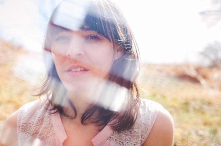 Blue Photography | Editorial Portraits Portfolio | MD Grass Field Texture Concept Portrait