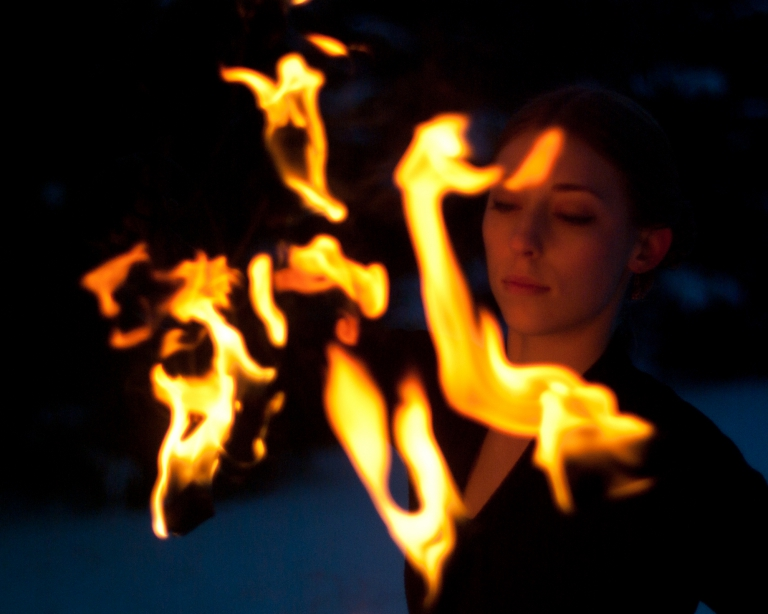 Blue Photography | Editorial Portraits Portfolio | Ember Flynne
